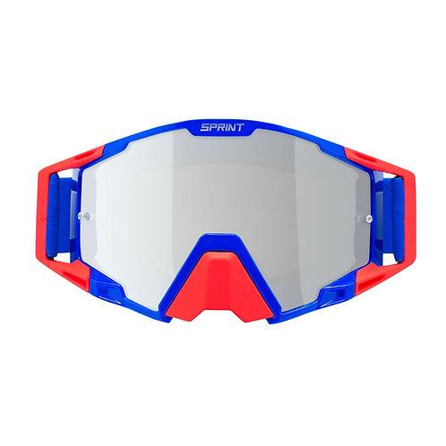 Oculos RAPTOR Electric Azul/Vermelho SPRINT
