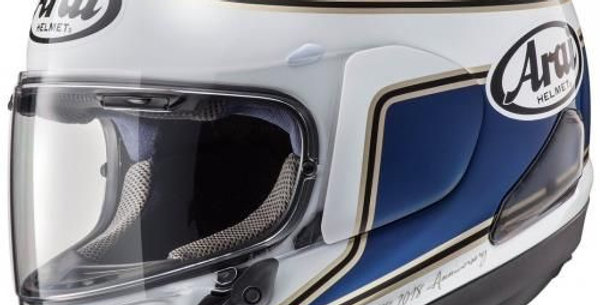 Capacete Arai RX-7 V Spencer 40th Replica