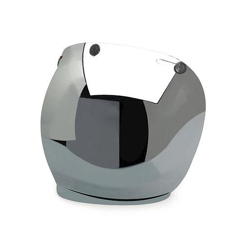 Bubble visor mirror