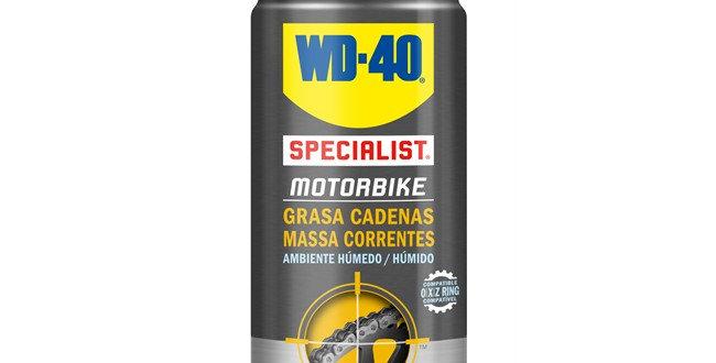 Massa de corrente moto WD-40 400 ml