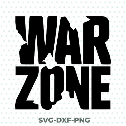 Warzone Call of Duty SVG / DXF / PNG COD Gaming