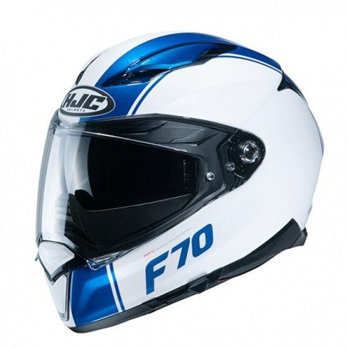 Capacete HJC F70 Mago MC2SF Azul