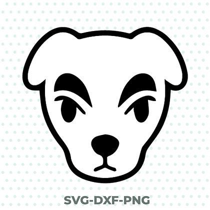 Kk Slider Animal Crossing SVG / DXF / PNG Nintendo Inspired Design
