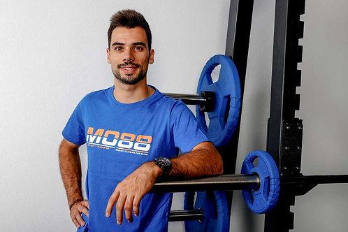 T-shirt Miguel Oliveira MO88 (Azul)