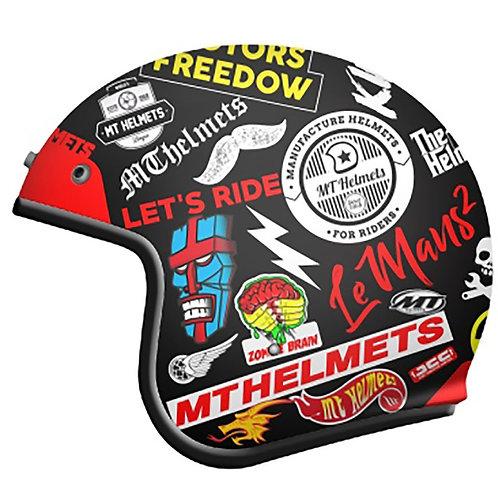 Capacete MT Le Mans Anarchy
