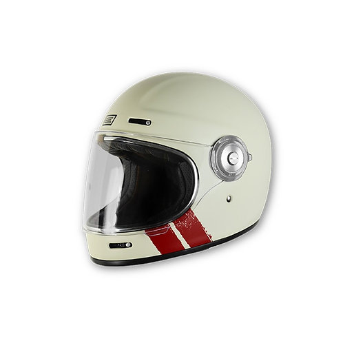 Capacete Origine Vega Classic Stripe White