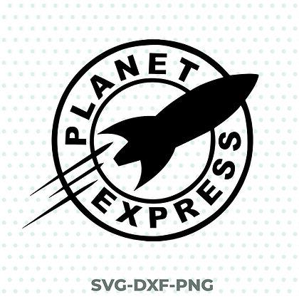 Planet Express - Futurama SVG / DXF / PNG