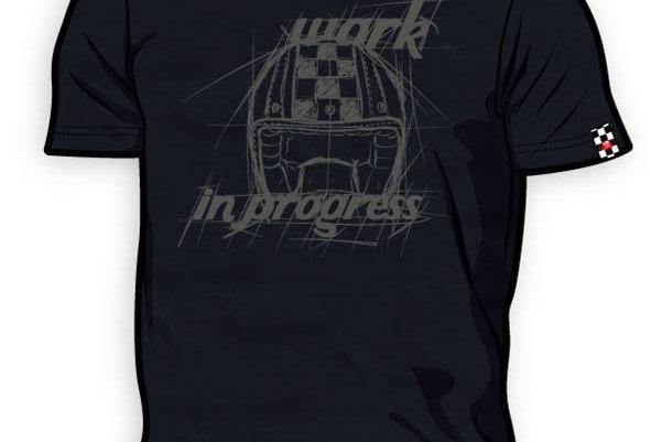 T-Shirt 8ITO Work in Progress Asphalt