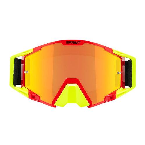 Oculos RAPTOR Vermelho/Amarelo SPRINT