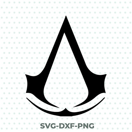 Assassin's Creed SVG / DXF / PNG Gaming