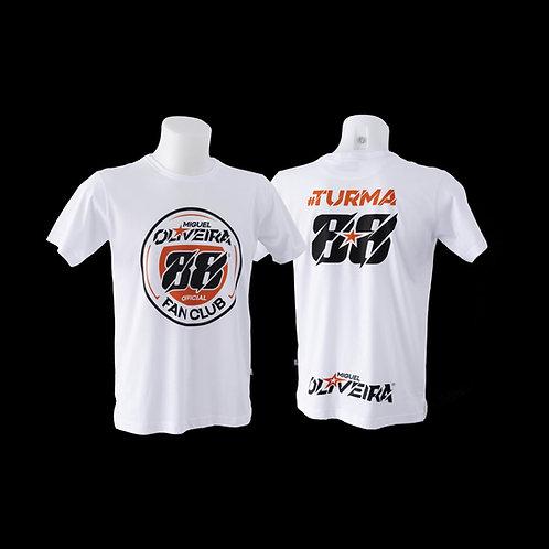T-shirt Miguel Oliveira Branca 88