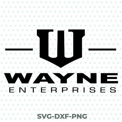 Wayne Enterprises - Batman SVG / DXF / PNG