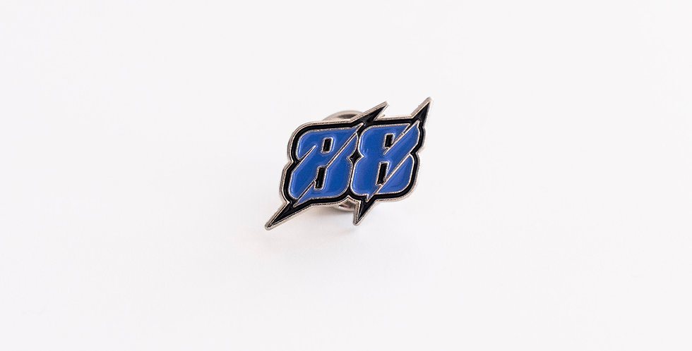 Pin 88 Azul