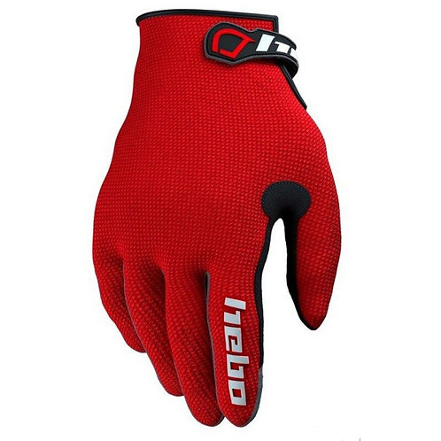Hebo Trial Team II Gloves Red