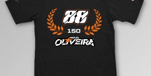 T-shirt 150 GP's - Miguel Oliveira