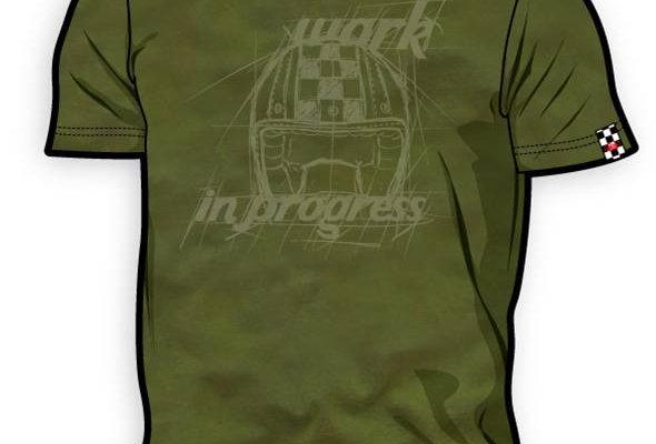 T-Shirt 8ITO Work in Progress Foxy Grey