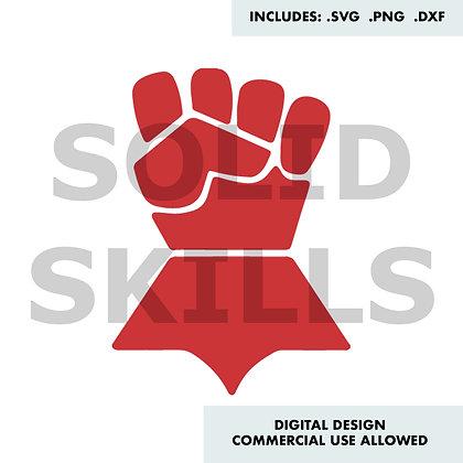 Warhammer Imperial Fists Design - SVG / DXF / PNG 40k
