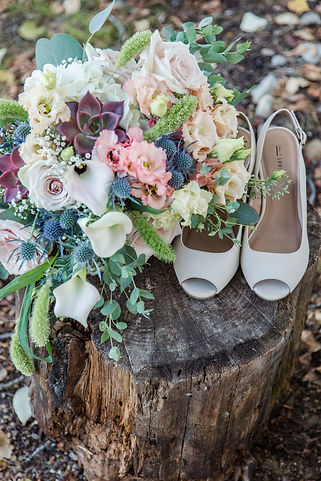 Bridal bouquet wedding. Photo: Michelle Marie Creative