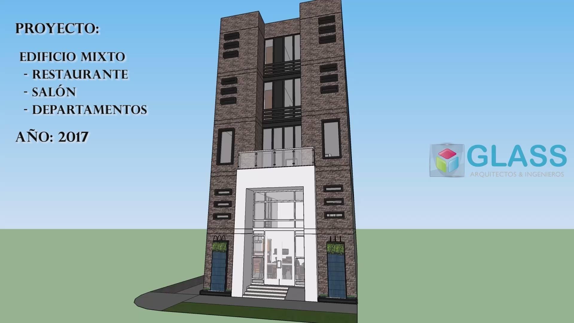 Edificio - Restaurant Salón y Departamentos
