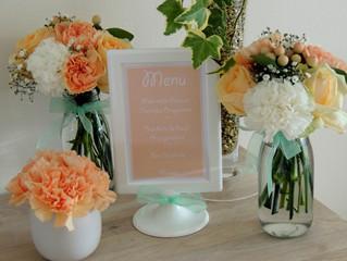 Le joli Baptême de Roméo, Peach & Mint, le 24/09/2017 à l'Auberge des Pins (Tourrettes)