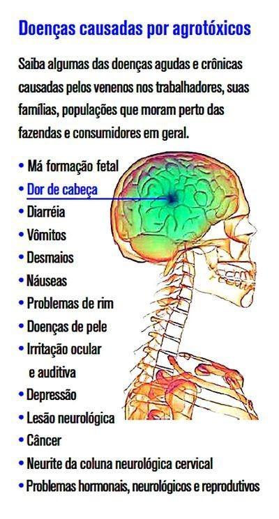 Doenças causadas por agrotóxicos