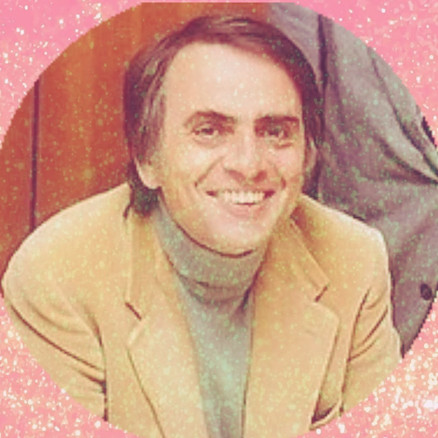 Carl Sagan - in love with science