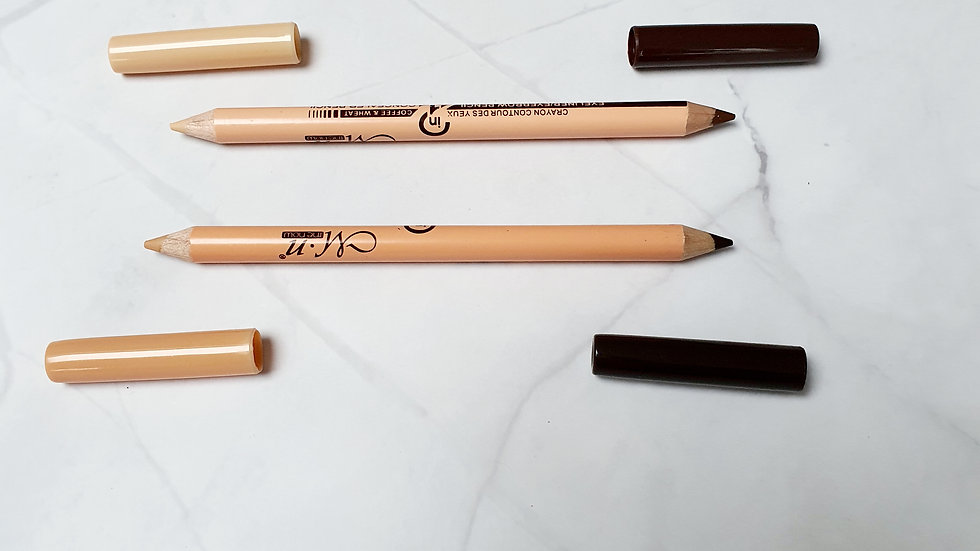 Brow pencil and highlighter