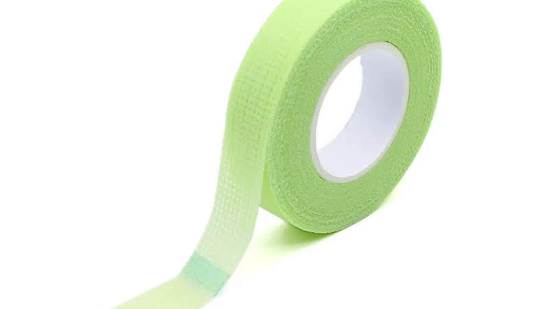 Green eyelash tape