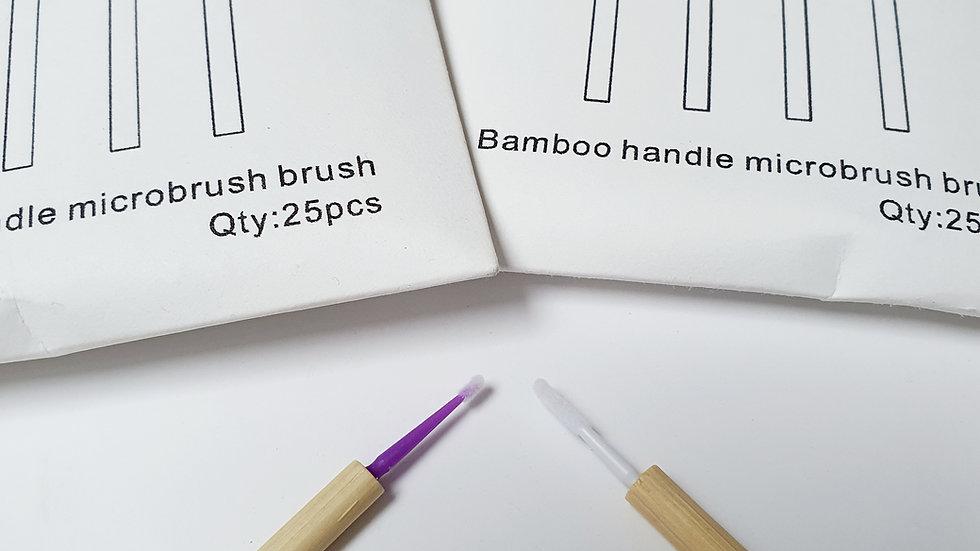 Bambo handel micro brushes