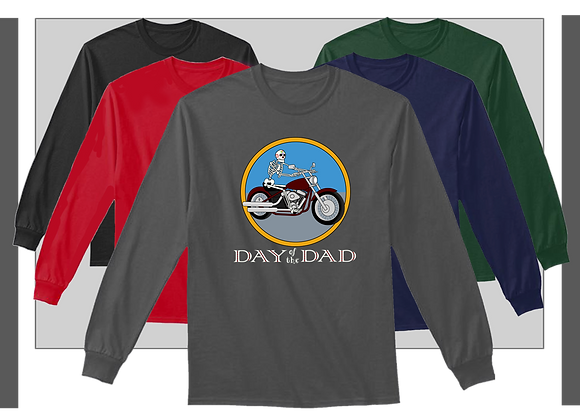 LONG SLEEVE SHIRTS, MOTORCYCLE DAD