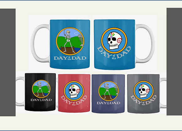 FISHING DAD MUGS, TWO SIDED