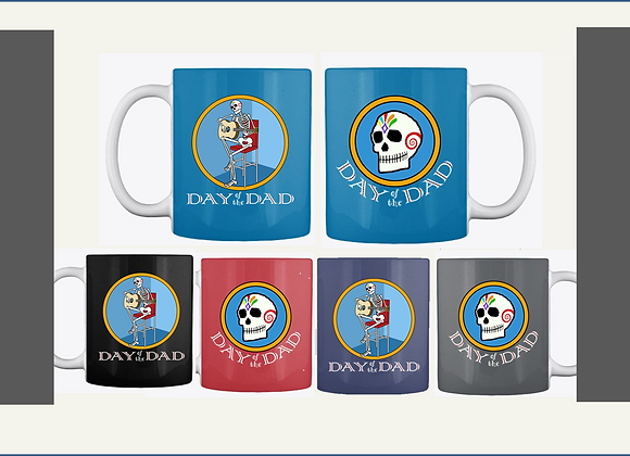 GUITAR DAD MUGS, TWO SIDED