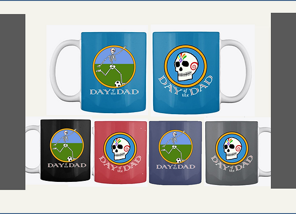 SOCCER DAD MUGS, TWO SIDED