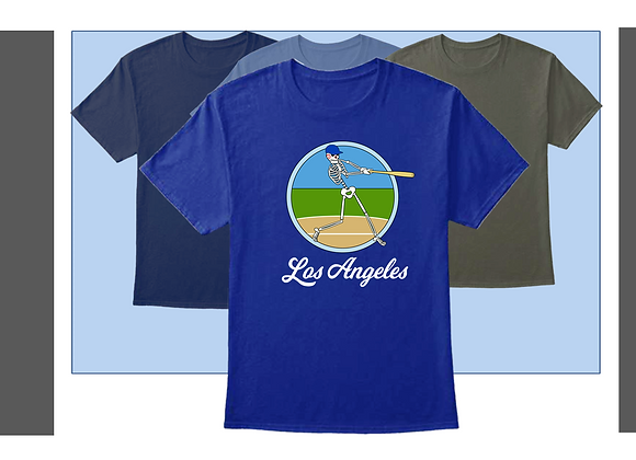 SHORT SLEEVE SHIRTS, L.A. BASEBALL