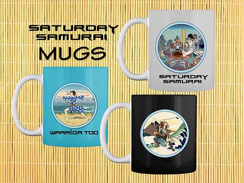SATUDAY SAMURAI MUGS
