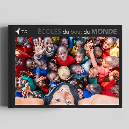 """Livre """"Écoles du bout du monde"""""""
