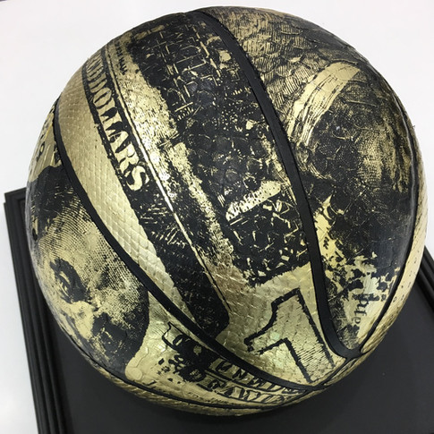 Gold Pyhton Basketball in Collaboration with Keith Martin 2016