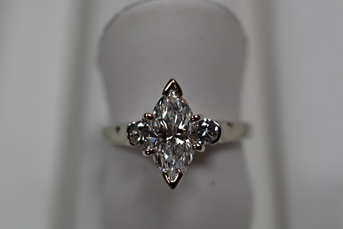 Daimond Engagemrnt ring (Ideal Cut) D color