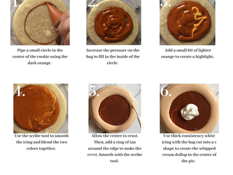 Download a Free Pumpkin Pie Cookie Decorating Guide!