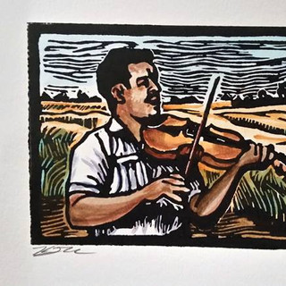 """""""Prairie Fiddler - Number 4"""""""
