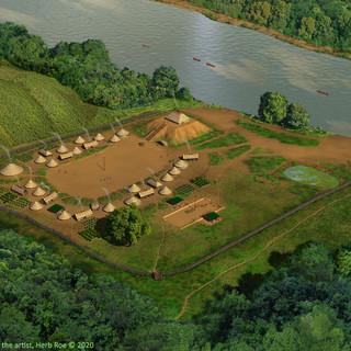 Taskigi Mound and village site (1EE1)