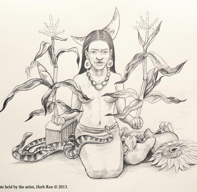 """""""Cahokian Maize Goddess"""""""