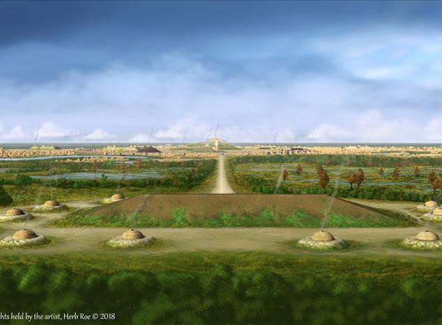 """""""Cahokias Rattlesnake Causeway"""""""