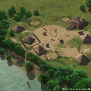 """""""Town Creek Indian Mound (31 MG 2)"""""""