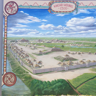 """""""Kincaid Mounds Mural"""""""