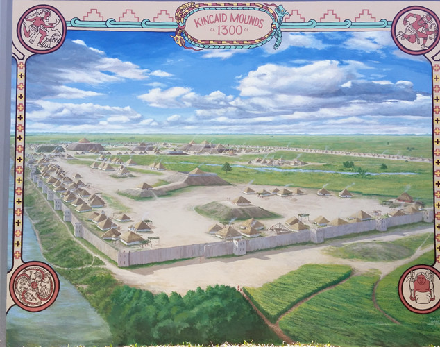 """Kincaid Mounds Mural"""
