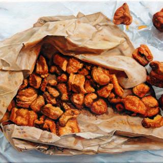 """""""Une étude en brun : Grattons on a brown paper bag"""""""