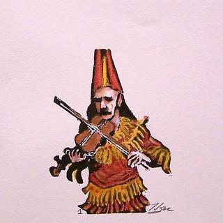 """Cajun Fiddler - Number 1"""