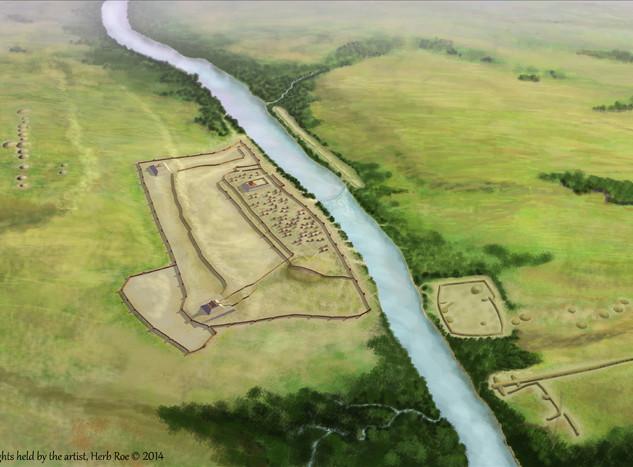 """Aztalan Mounds"""