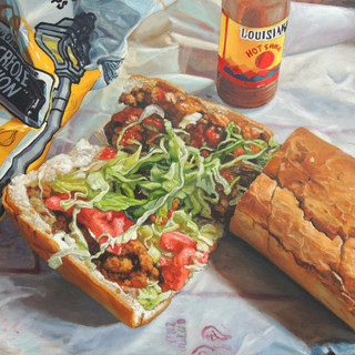 """""""Olde Tyme Grocery : Oyster Poboy"""""""